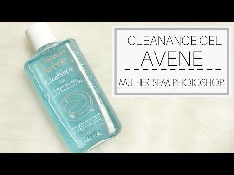 Cleanance Gel Avene para limpeza de pele oleosa
