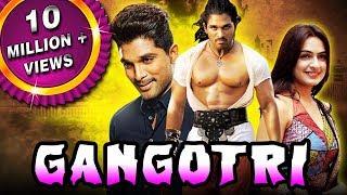 """Allu Arjun Blockbuster Hindi Dubbed Movie """"Gangotri""""   Allu Arjun, Prakash Raj, Brahmanandam"""