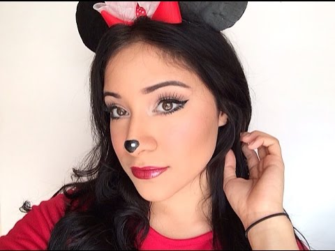 maquillaje minnie mouse