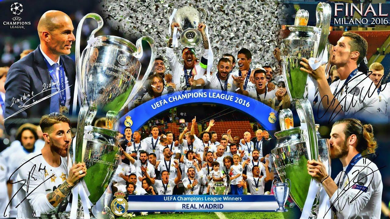 UEFA Champions League Winners II 1956 2016