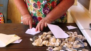 как сделать конверт из бумаги без клея за 1 минуту