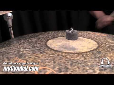 """Meinl 22"""" Byzance Extra Dry Thin Ride Cymbal - Played by Chris Coleman (B22EDTR-1111312B)"""