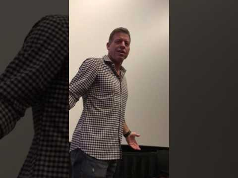 Meeting Troy Aikman