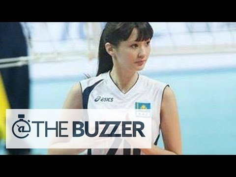 Girl 'Too Beautiful' to Play Volleyball - @TheBuzzeronFOX