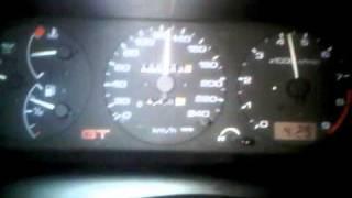 nissan primera 2.0e gt p10 1990 test acceleration