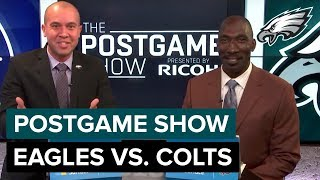 Philadelphia Eagles vs. Indianapolis Colts Postgame Show | 2018 Week 3