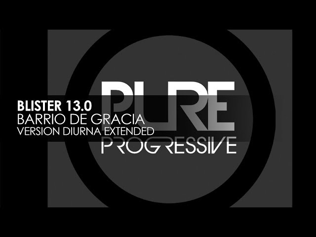 Blister 13.0 - Barrio de Gracia (Version Diurna)