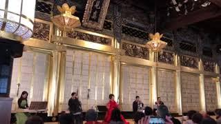 二胡姜暁艶&雅楽「アニバーサリー」in西本願寺御影堂(国宝)2019年元旦