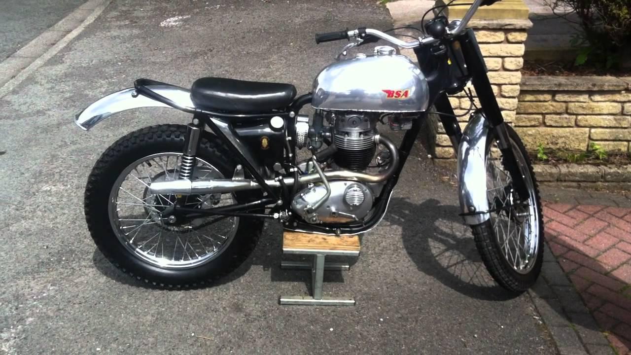 Bsa B40 Trials Bike 1965 Road Registered 350 Ss