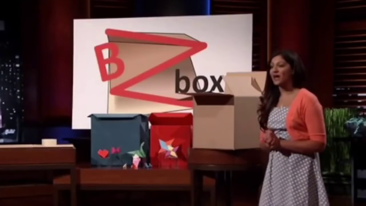 Shark Tank Bzbox Indian Girl Amazing Packaging Product Youtube