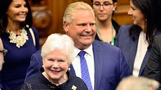 Doug Ford lays out agenda in Ontario throne speech