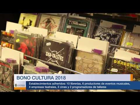 Lanzamiento Bono Cultura 2018