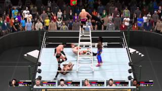 WWE 2K15- Worst moment ever at Money in The Bank (Ladder Match)