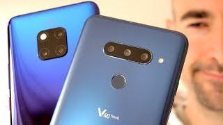 Triple Camera Comparison | Huawei Mate 20 Pro vs LG V40