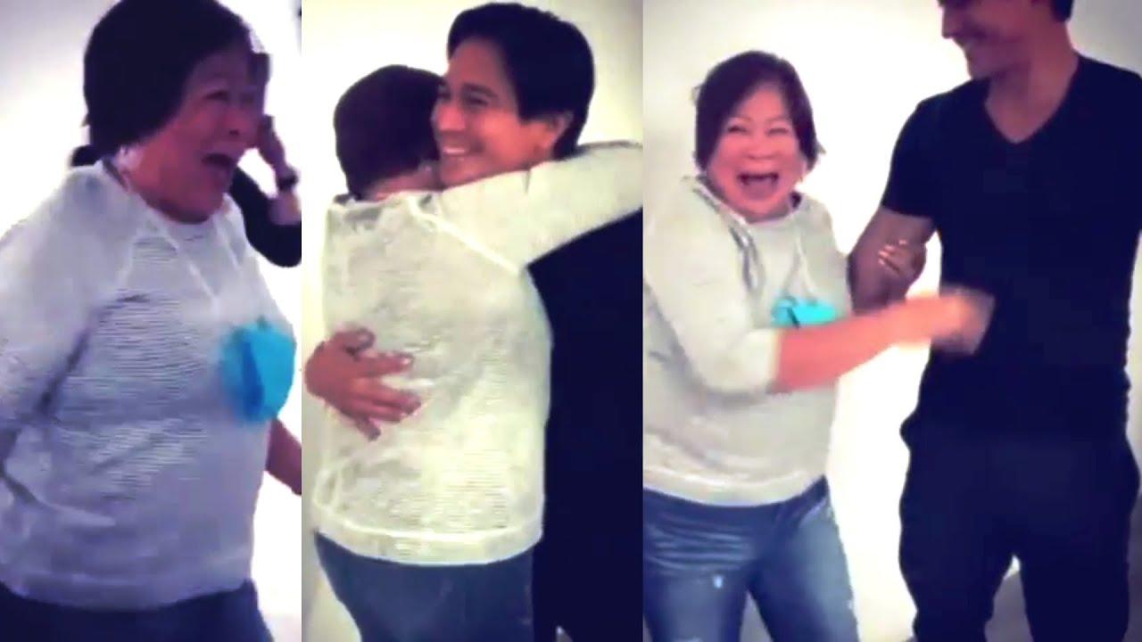 Piolo Pascual PINAIYAK ang kanyang NANAY! 75th Birthday Surprise
