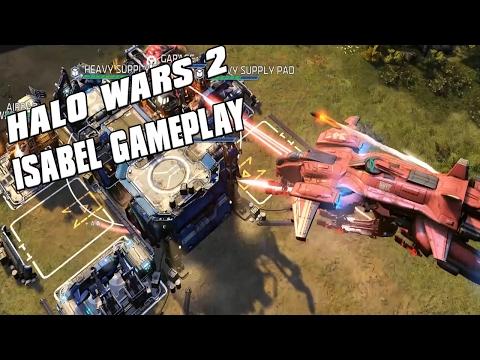 Halo Wars 2 - Isabel Gameplay! AI Control