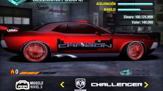 Mis autos tuning de need for speed carbono.wmv