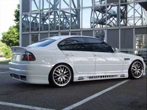 Bmw E46 Tuning White Amp Black Youtube