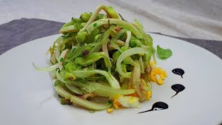 Праздничный Салат с Кальмарами без Майонеза. Салат к Праздничному Столу.  Новогодний Салат.