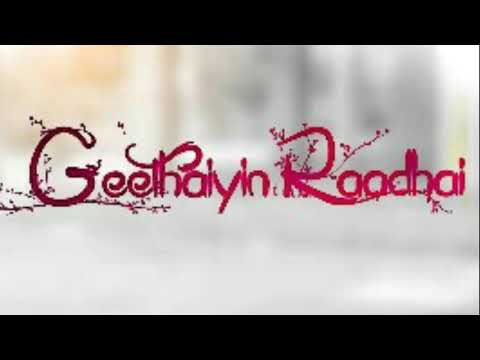 Geethaiyin Radhai Cover Song (Official)...