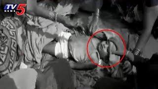 చిన్నారి ప్రాణాలు తీసిన స్కూల్ బస్సు..! | School Bus Kills 3 Years Girl | Visakhapatnam | TV5 News
