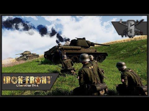 PANZERGRENADIER ASSAULT w/ KING TIGER Support - ArmA 3 WW2 - German Marksman Gameplay