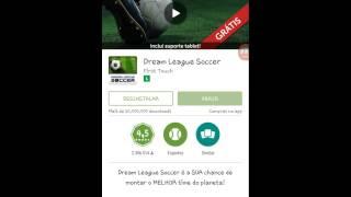 Como baixar dream league soccer dinheiro infinito