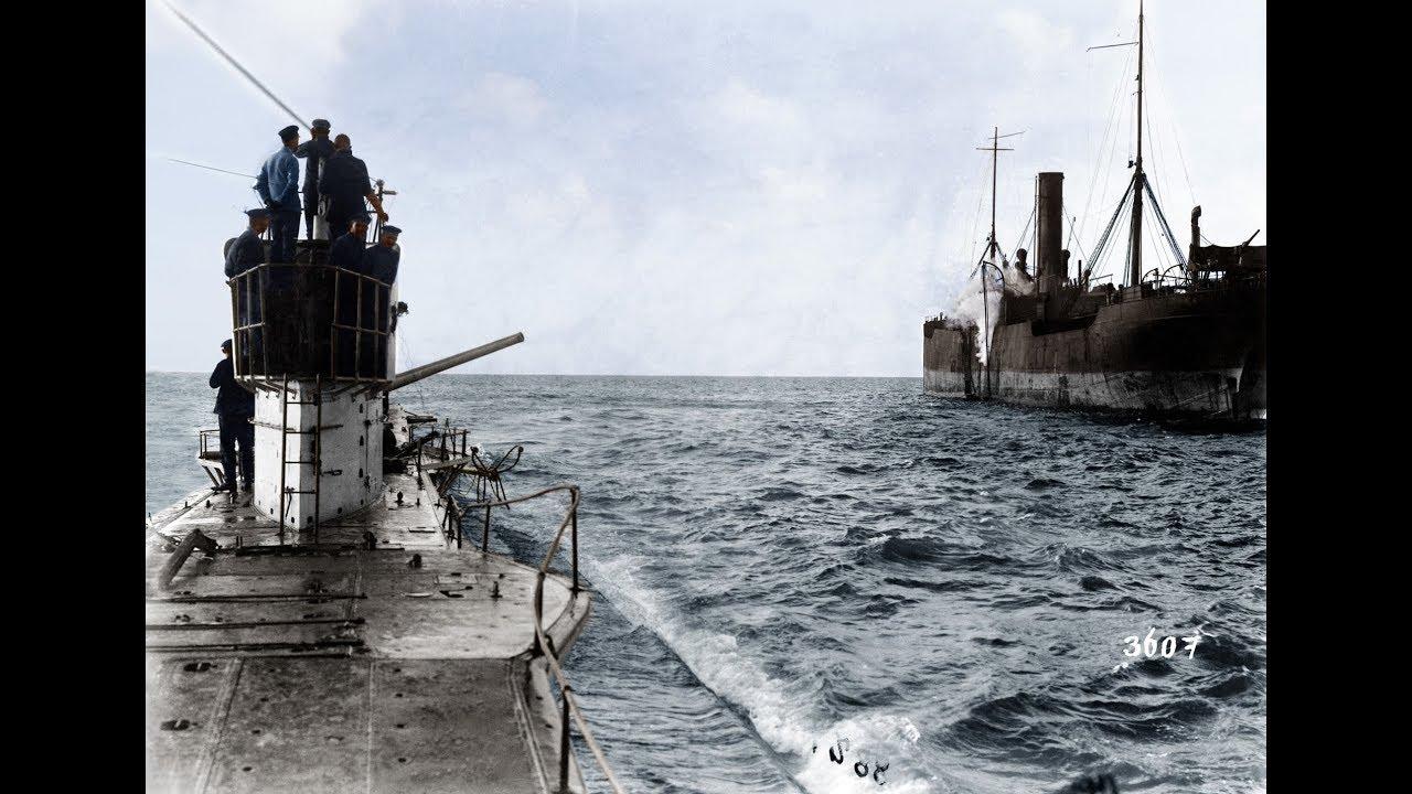 U-Boat footage WW1 in Color
