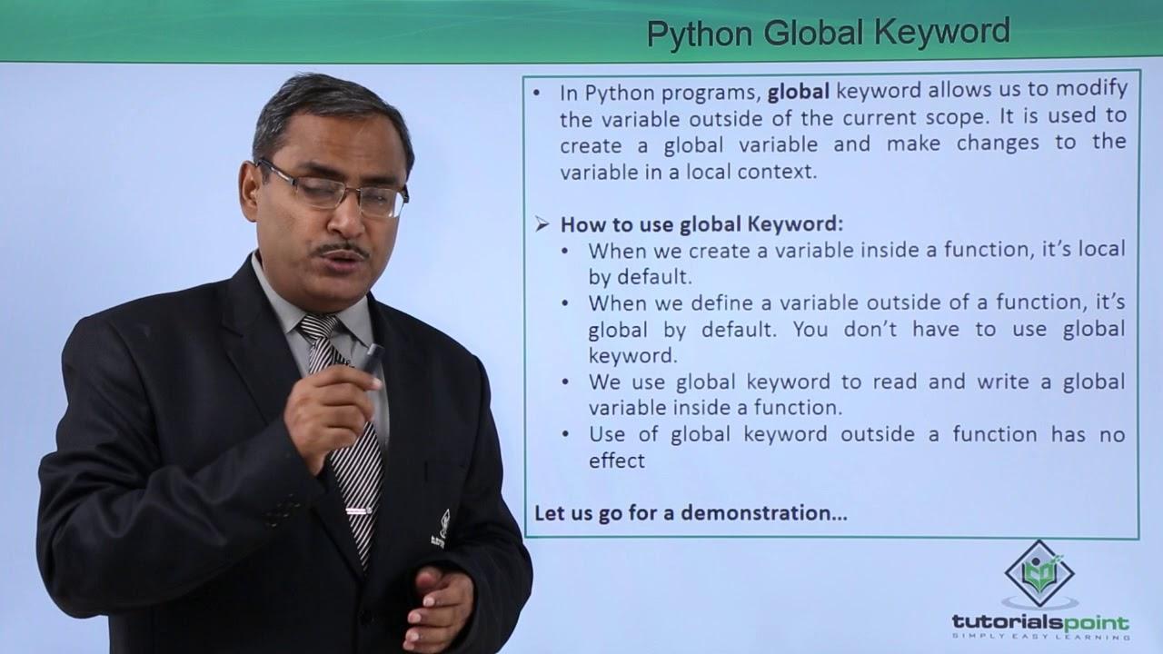 Python - Global Keyword