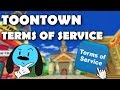The new toontown terms of service