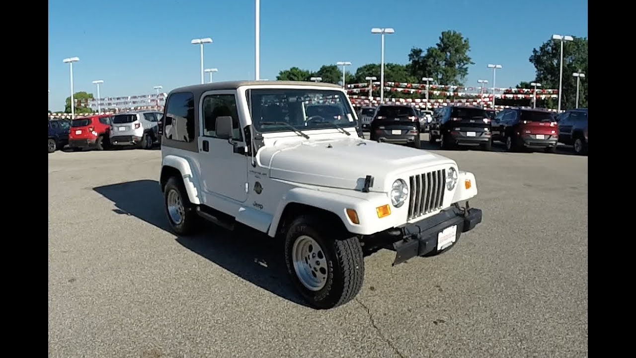 2000 Jeep Wrangler Sahara Tj 4x4 18420c You