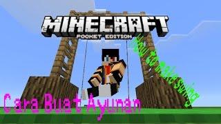 Cara Buat Ayunan Di Minecraft (No Mods)  - Minecraft Tutorial Indonesia