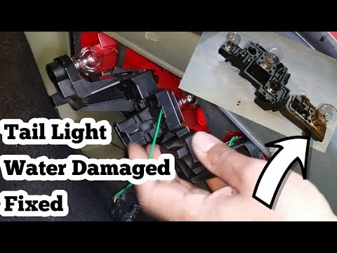 How To Repair Peugeot 307 Tail Light Bulb Holder Assembly