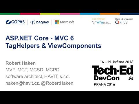 ASP.NET Core MVC6 - Tag Helpers, View Components [Robert Haken, TechEd Praha 05/2016]