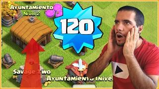 RECORD MUNDIAL CON AYUNTAMIENTO 2!! - CURIOSIDADES CLASH OF CLANS