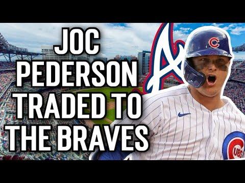 Braves' Joc Pederson: Traded to Atlanta