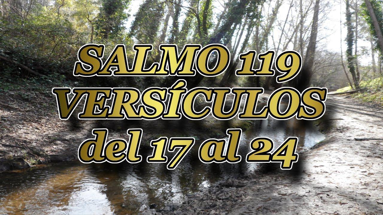 Resultado de imagen de Salmo 119 del 17 - 24