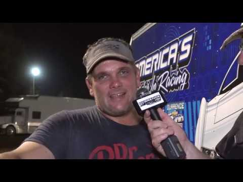 Durrence Layne Dirt Late Model Series at Talladega Short Track 7-3-19 Top 3 Interviews