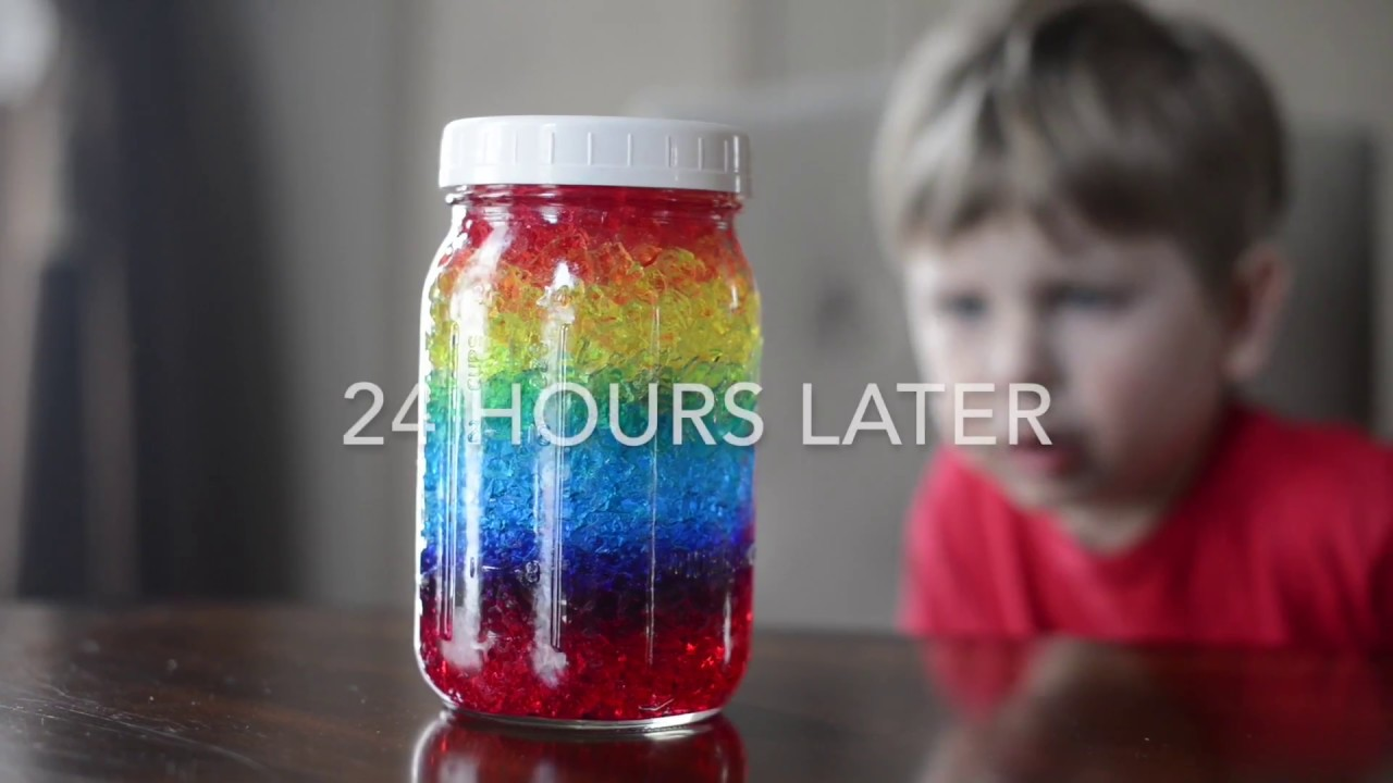 10 Easy Ranbow Science Activities For PreK