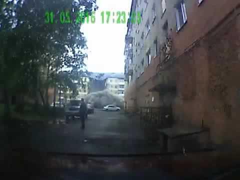 Момент обрушения пятиэтажки в Междуреченске попал в объектив регистратора