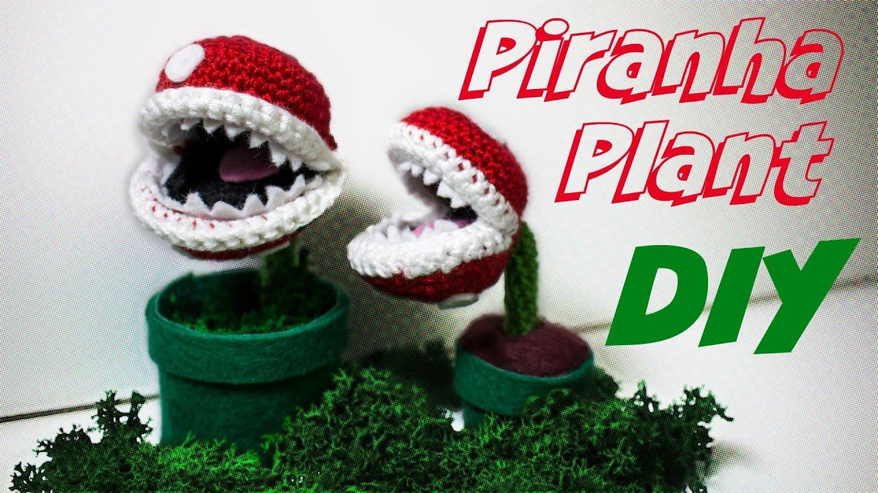 Piranha Plant Häkelanleitung Amigurumi *einfach* DIY - YouTube
