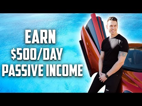 Earn $500 PER DAY In Passive Income Online *NEW AFFILIATE MARKETING STRATEGY*