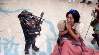 Cosplay at Anime Expo: Baby Predator Holds Court