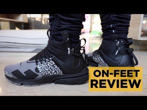 Nike Acronym Presto Mid Cool Grey On