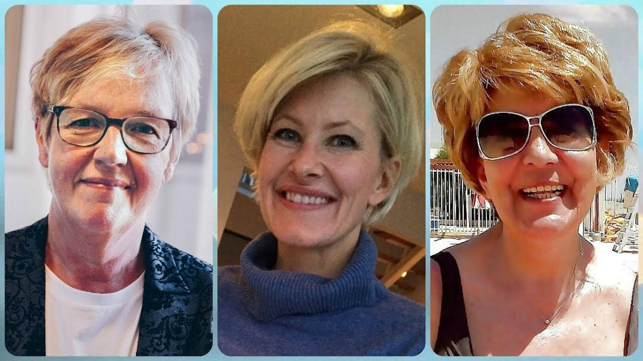 Fryzury Z Krótkich Włosów Dla Pań Dojrzałych Lato 2018