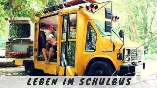 Amerikanischer Schulbus umgebaut - ein Tiny House Wohngefühl