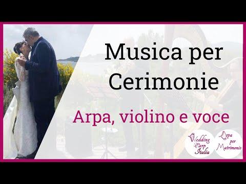 Musica Sposi Trio Voce Violino e Arpa