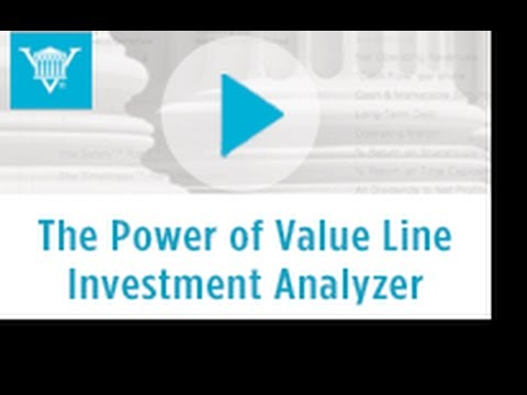 The Power of The Value Line Investment Analyzer