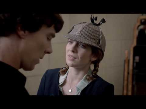 Sherlock meets Kitty Riley  The Reichenbach Fall  Sherlock  BBC