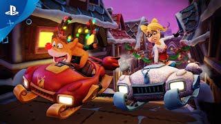 Crash Team Racing Nitro-Fueled | Winter Circus Grand Prix Trailer | PS4